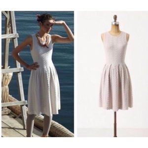 Anthro Far Away From Close cable knit dress